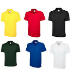 Childrens Boys & Girls Classic Polo Pique T Shirts Size Age 2 to 13 Years / 103