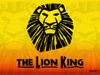 LION KING ON BROADWAY TICKETS - FRONT MEZZANINE BOX SEATING!
