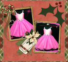Kids Pink Communion Wedding Party Outfit Flowers Girls Dresses SIZE 2-3-4-5-6-8Y