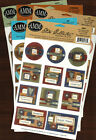 All My Memories~CARDSTOCK STICKERS~SCRAPBOOKING~CARDS~PAPER CRAFTS