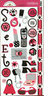 Doodlebug Design~CARDSTOCK STICKERS~Scrapbooking~Papercrafts~Cardmaking