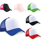 PACK OF 3 CLASSIC BEECHFIELD TRUCKER CAPS- 6 GREAT COLOURS SALE PRICE. HAT VISOR
