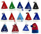 OFFICIAL FOOTBALL TEAM - XMAS CHRISTMAS SANTA HATS HAT FLEECE - DECORATION GIFT