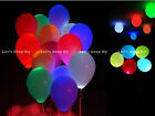 12 LED Paper Lantern Balloon Light for Wedding Christmas Party Floral Decoration