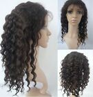 "Body Wave * High Ponytail * Full Lace Indian Remy Hair Wig 14"" - 24"" wavy pony"