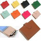 Mini Wallets Half Wallets Credit Card Case Wallet Genuine Leather Coin Pocket