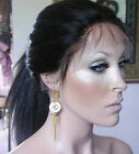 "8""-12"" short Indian Remy Human Hair Lace Front / Full Lace Wigs YAKI STRAIGHT ~~"