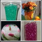 DECO BEADS WEDDING FLORAL CENTERPIECE WATER BEADS GEL CRYSTALS VASE FILL PEARLS