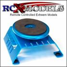 RC Car Truck Work Stand Bench Table Surface Turntable Magnetic Aluminum Portable