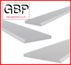 White UPVC Window Trim 40mm  60mm  90mm architrave/skirting 4 x 2.5M (10M)
