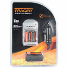 *NEW* Deben Tracer Double Charger for RCR123A batteries inc. 2 Batteries
