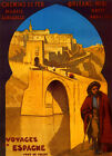 Spain Madrid Orleans France French Tourism Travel Vintage Poster Repo FREE SH