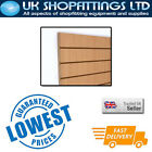 Pack of 8 Beech 4x4 Slatwall Panels + inserts - New