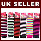 Girls Toddler Leg WarmersTights, Leggings, Trousers, Skirts Stripe Glitter Dance