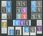 1990-2009 Double Heads, Penny Black Anni, MS1501, SG1467-1478, 2133 2955/6