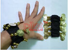 Belly Dance Bracelets Wrist Cuff Gold Silver Coin Bracelets Bollywood Dancing