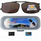 C01 patent polarized clip on driving fishing sunglasses,free case/wipping cloth