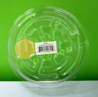 """CLEAR 6"""" inch SAUCER (5, 12, 25 Pack) Vinyl Reuseable Sturdy Plant Pot Tray Pan"""
