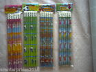 Pencil with Erasers Pirate, Football, Princess, Fairy 1,2..6,..10,11,12,18,24,30