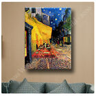 Huge! Van Gogh Cafe Terrace ALL SIZES CANVAS Print Poster GICLEE Art DECOR NEW