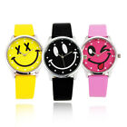 Hot Beautiful Smile Face Girls Boys Kids Wrist Watch,A28