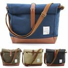 Canvas 2-Way Backpack Mens Bag Cross Body Messenger Bag Backpacks Shoulder Bags