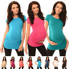 New MATERNITY TOP T-SHIRT Pregnancy Clothing Wear Size 8 10 12 14 16 18 5010