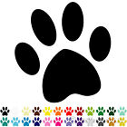 20 Dog Cat Paw Print Car & Wall Stickers / Decals | Choose From 24 Colours