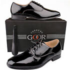 Mens New Black Smart Patent Formal Wedding / Suit Shoes 6 - 14