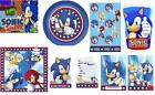 OFFICIAL LICENSED - SONIC THE HEDGEHOG KIDS PARTY RANGE ITEMS - ALL IN 1 LISTING