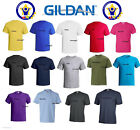Mens T-shirt 100% Cotton Plain Short Sleeves Preshrunk Shirt  First Quality Tee