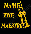 Trumpet Players Personalised T-Shirt Name Of Your Choice The Trumpet Maestro