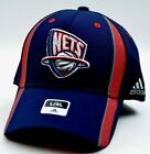 New Jersey Nets Adidas NBA Basketball Swingman Stretch Fit Cap Hat SM/MED LG/XL on eBay