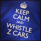 Funny Keep Calm & Whistle Z Cars Everton football T-Shirt Adults & Kids Sizes