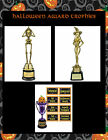 HALLOWEEN PARTY AWARD TROPHY - BEST COSTUME SKELETON SEXIEST COSTUME WITCH