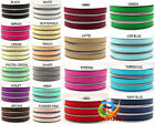 Wholesale 100Yards/roll Solid Color Grosgrain Ribbon Craft From 196C /In 6-100mm
