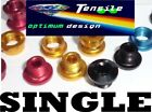 Onza Alloy Chainring Bolts,Single,Set 5. Blue, Red, Gold, Black high-quality NEW
