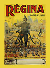 Regina Bicycle Cycles Doves Birds Venice Venise Vintage Poster Repo FREE S/H