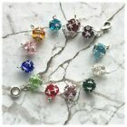 Birthstone Clip-on Charms-Charm Bracelets