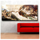 """Michelangelo """"The Creation of adam"""" ALL SIZES CANVAS Print Poster GICLEE Photo"""