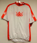 'Velo Kings' Short Sleeve Cycling Jersey by Sugoi in Red / White