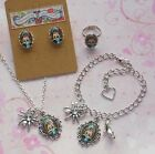 Monster High Charm Jewellery Sets - Bracelet, Necklace, Ring & Earrings