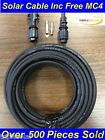 6mm² Solar PV Cable DC rated Black 79Amp + 1 Pair Free MC4 CONNECTOR. Free P+P