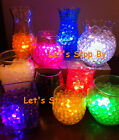 200g Water Pearl Bead + 24 LED Submersible Wedding Waterproof Floral Vase Light