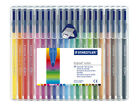 Staedtler Triplus Color Fibre Tip Pens Assorted Packs of 10 & 20