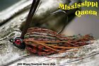 Old Hippy Custom Bass Jigs - Poison Tail - Mississippi Queen