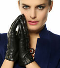 Womens Cashmere lined GENUINE Nappa leather WINTER Super WARM gloves