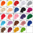 New Women's Long Crinkle Voile Scarf Wraps Shawl Stole Pure Color Soft 24 colors
