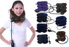 Air Inflatable Three Layer Adjustable Cervical Neck Traction More Color Choices