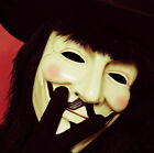 Anonymous Guy V for Vendetta Fawkes Fancy Dress Costume Cosplay Mask
